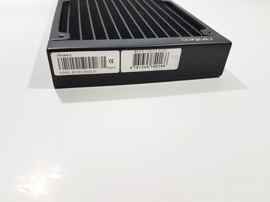 Antec Kuhler H₂O K240 CPU Liquid Cooler