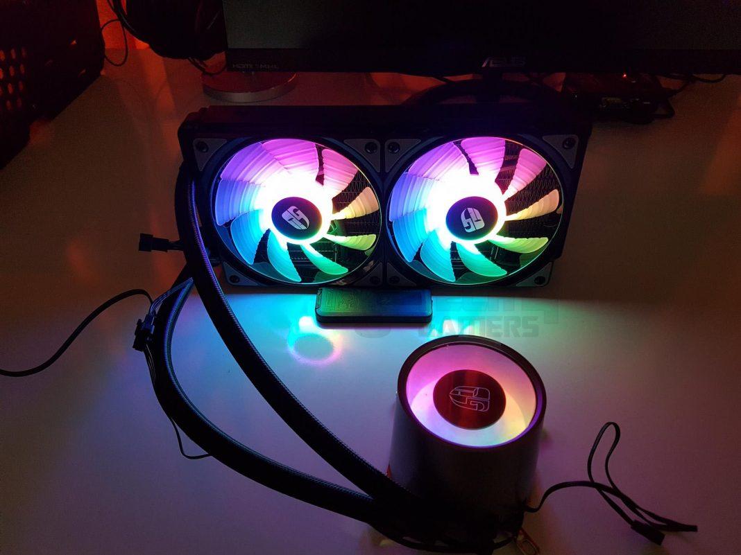 Deepcool Castle 240mm RGB CPU Liquid Cooler