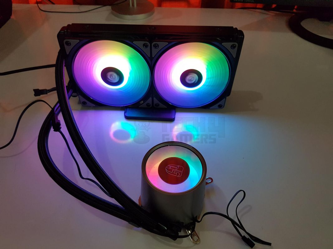 Deepcool Castle 240mm RGB CPU Liquid Cooler