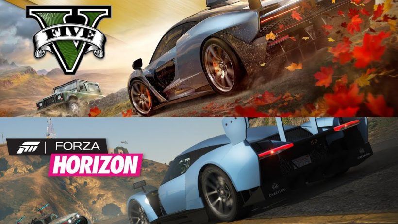 forza horizon 4 re created in gta v looks impressive with. Black Bedroom Furniture Sets. Home Design Ideas