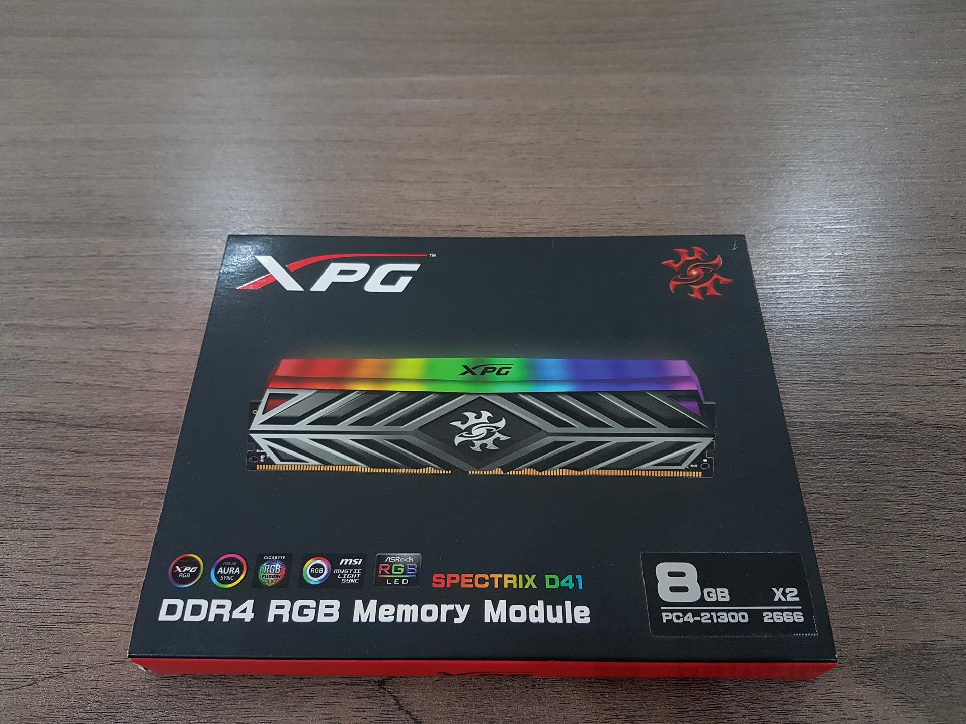 ADATA XPG SPECTRIX D41 16GB DDR4 RGB RAM Kit Review