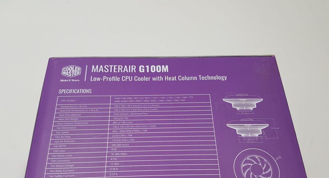 Cooler Master MasterAir G100M
