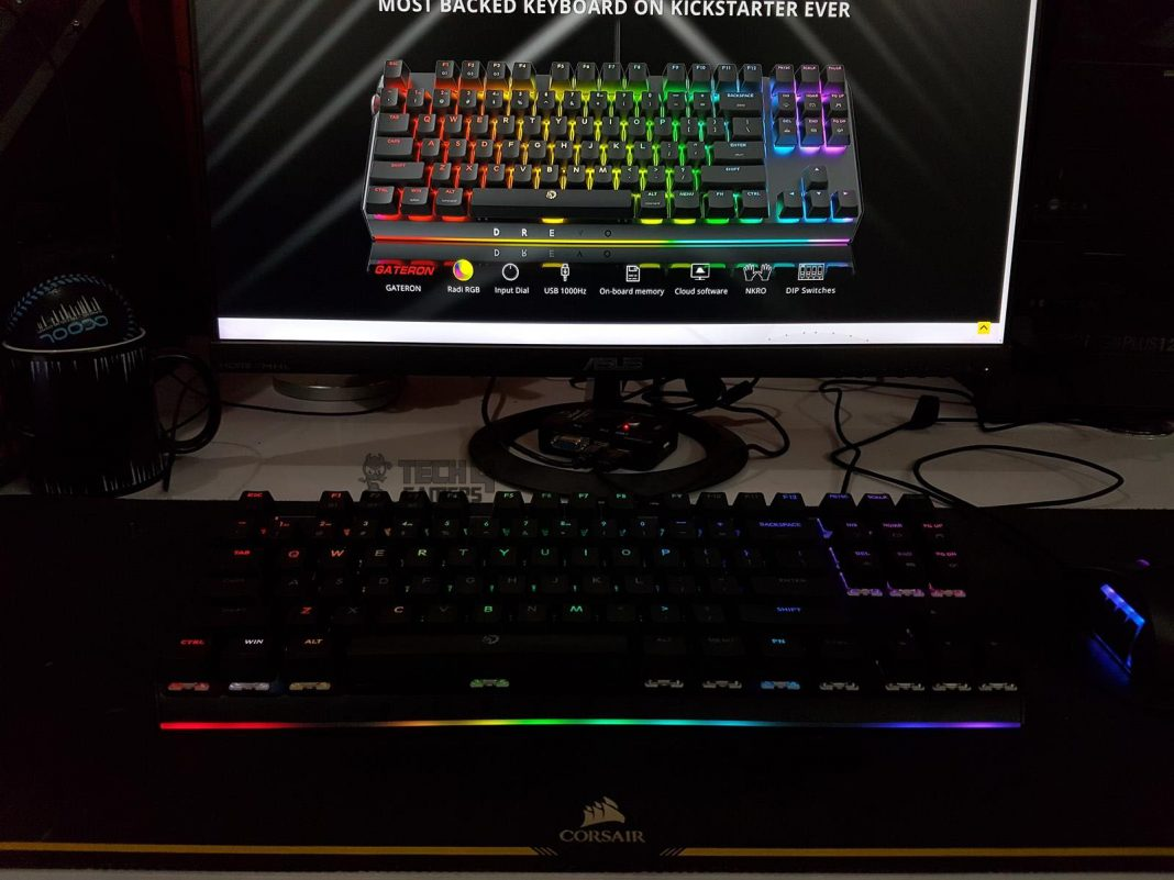 Drevo BladeMaster TE 87K Gaming Mechanical Keyboard