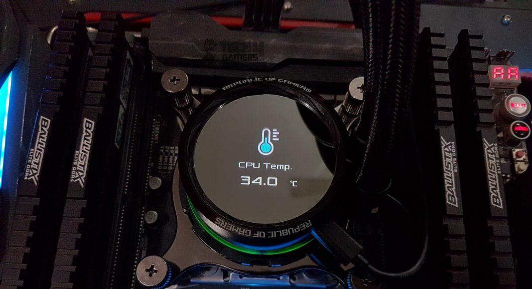 Asus ROG Ryuo 240 CPU Liquid Cooler Review