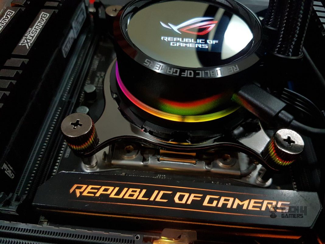 Asus ROG Ryuo 240 CPU Liquid Cooler Review