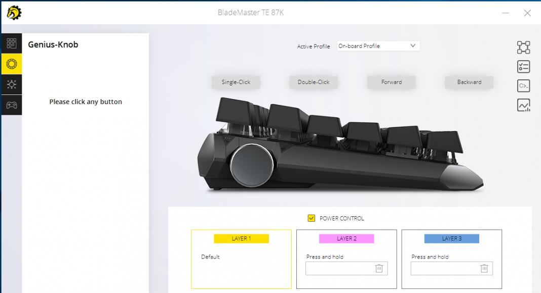 Drevo BladeMaster TE 87K Gaming Mechanical Keyboard