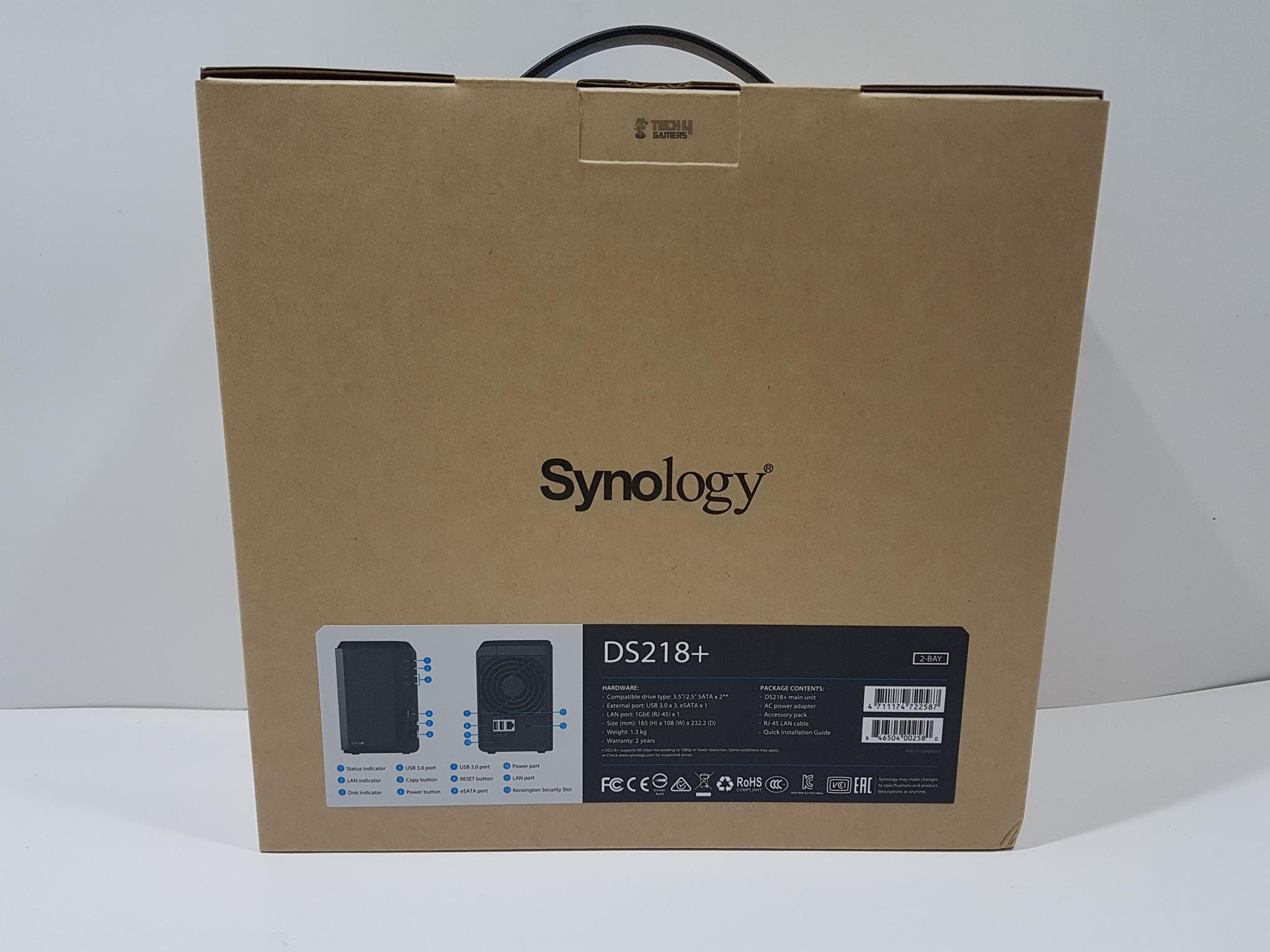 Synology 2-Bay NAS DiskStation DS218+ Review