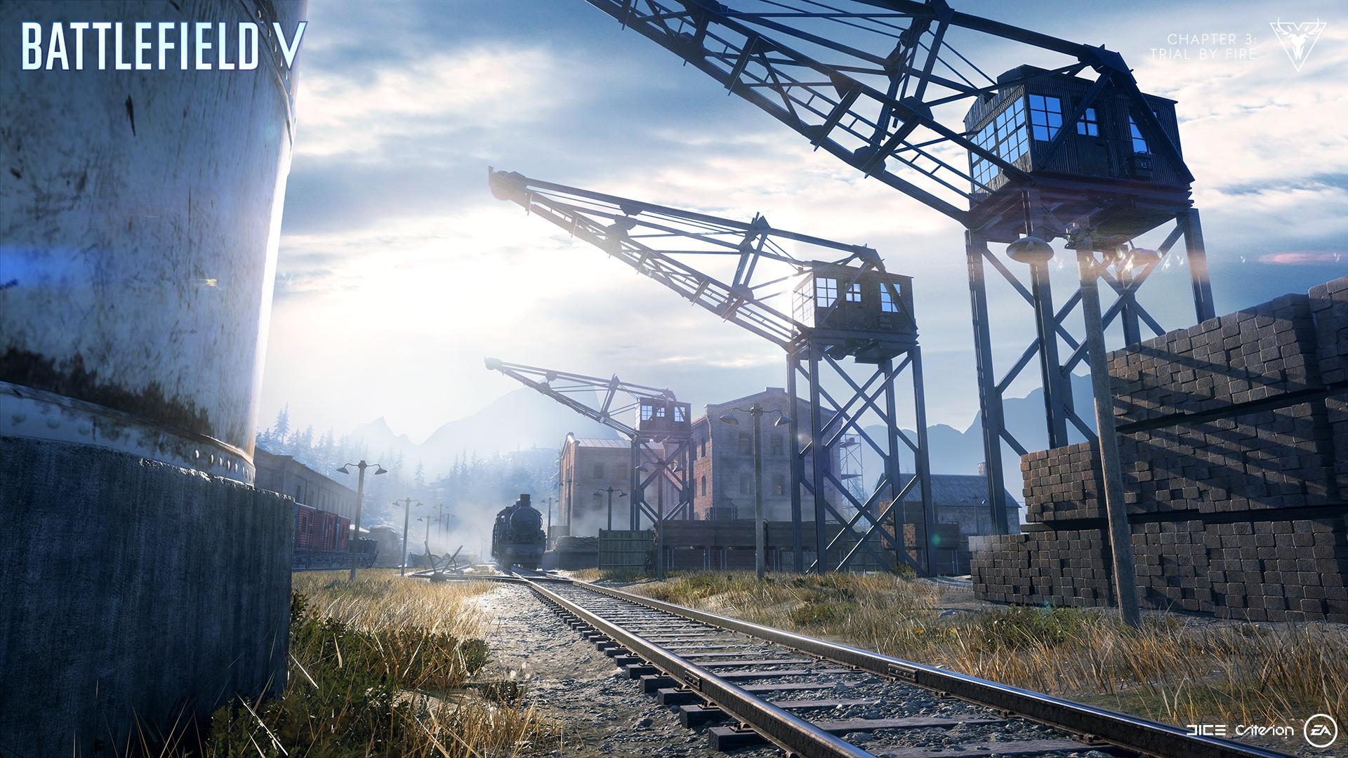 Battlefield 5 Battle Royale Firestorm - New System