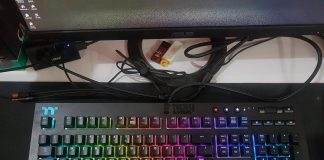 TThermaltake TT Premium X1 RGB Cherry MX Blue Keyboard
