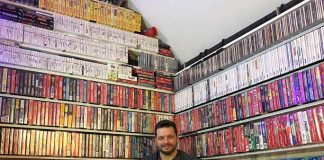 Guinness World record for largest physical video games collection