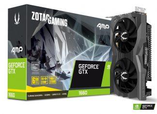 ZOTAC GeForce GTX 1660 Amp Edition