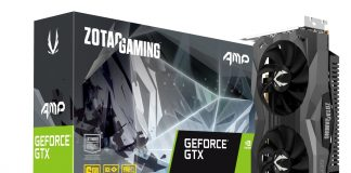 ZOTAC GeForce GTX 1660Ti Amp Edition