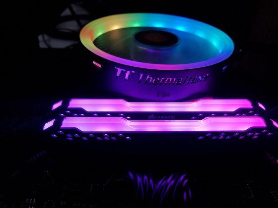Thermaltake UX100 ARGB Lighting Low Profile CPU Cooler