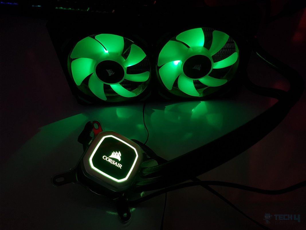 Corsair H100i RGB PLATINUM CPU Liquid Cooler