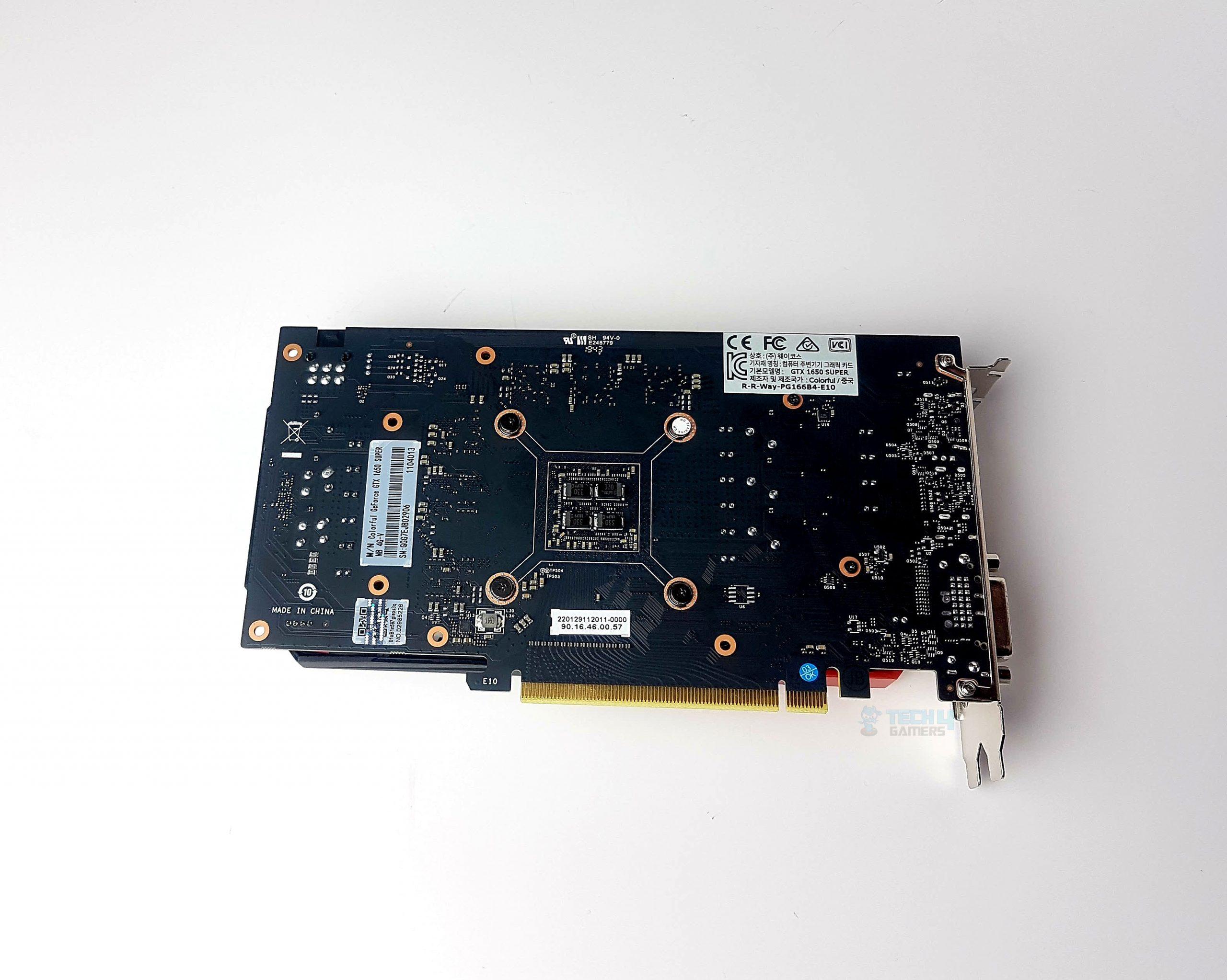 COLORFUL GTX 1650 Super PCB