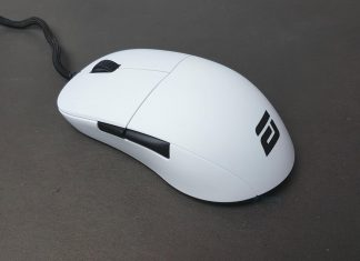ENDGAME GEAR XM1 One White gaming mouse