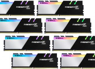 G. Skill Trident Z Neo 256 GB DDR4 memory
