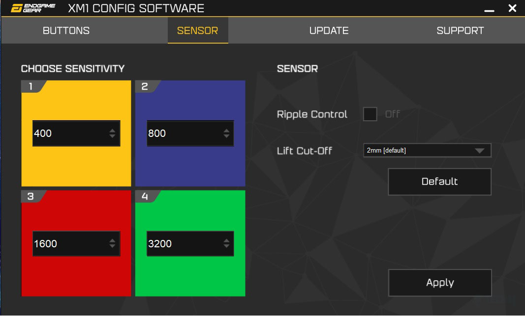 XM1 Config Software 2
