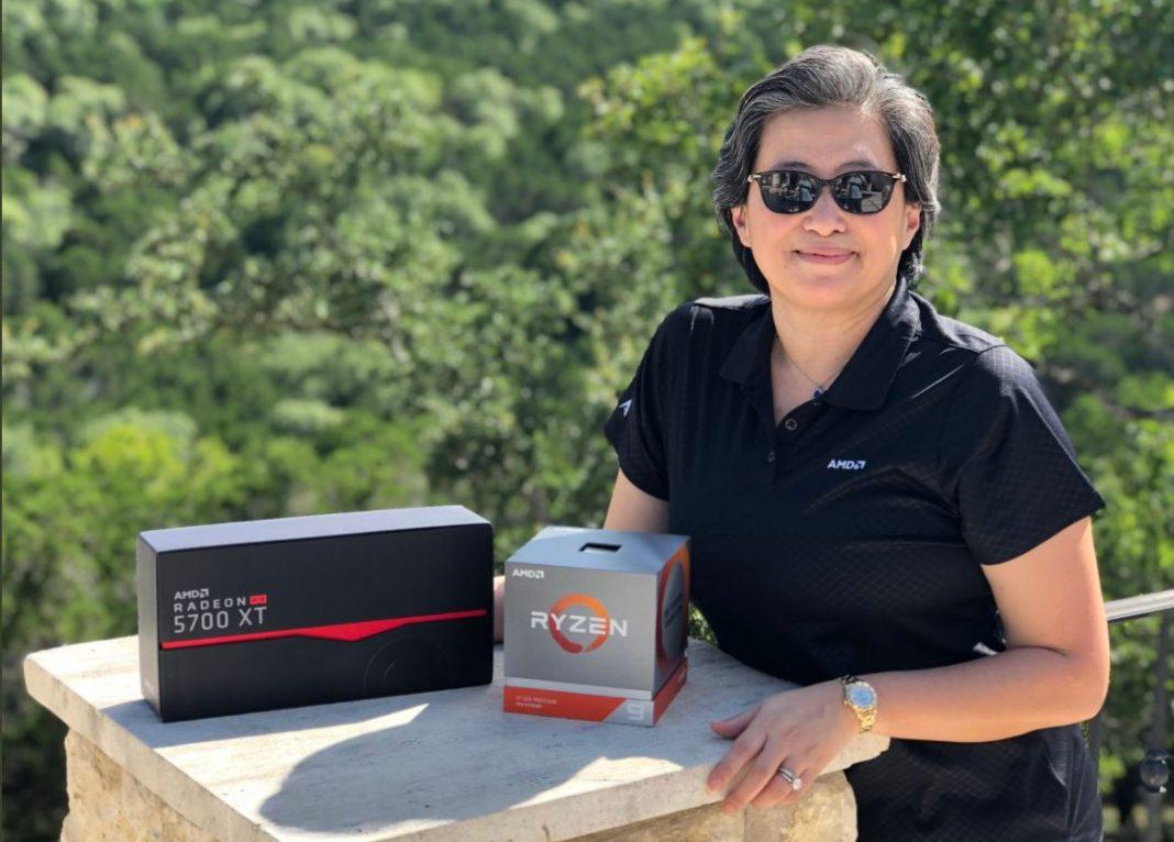 AMD Ryzen 4000 Lisa Su