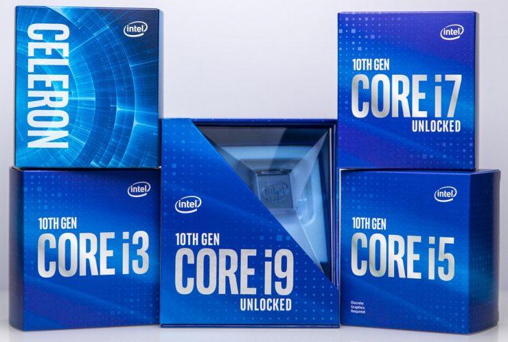 Intel 10th Gen Comet Lake-S CPUs
