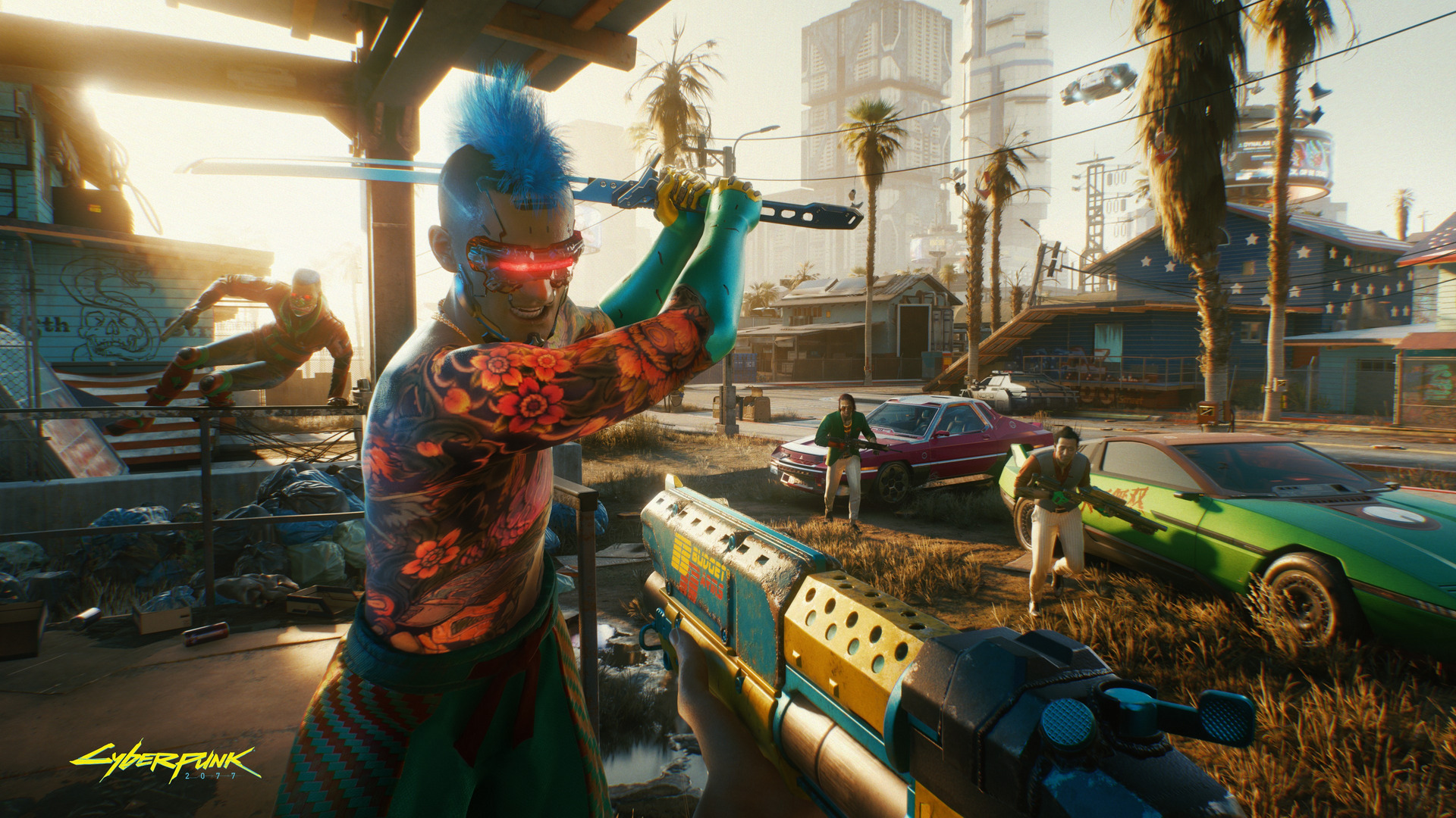 Cyberpunk 2077 - New Screenshots and Official Gameplay Video in 4K