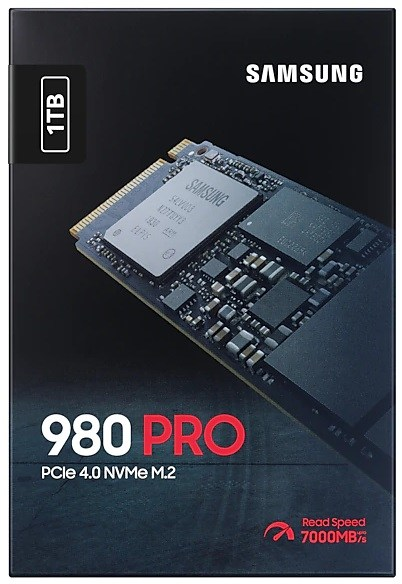 Samung 980 PRO PCIe 4.0 SSD