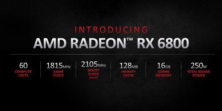 AMDRadeon RX 6800