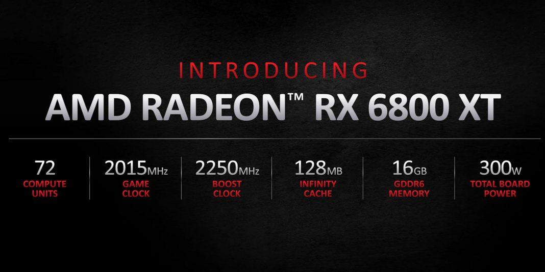 AMDRadeon RX 6800 XT