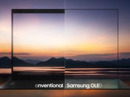 Samsung OLED Laptop Screen