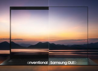 Samsung OLED Laptop Screen