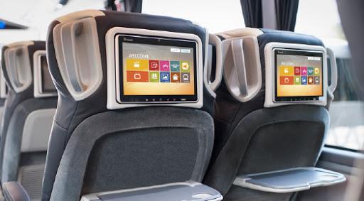 Bus entertainment