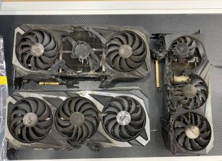 Asus GeForce RTX 3080 Burned
