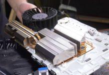 PlayStation 5 heatsink