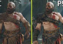 God of War PC vs PS5